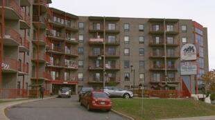 Place Alexandra, une résidence pour personnes aînées située au 2475 rue Alexandra à Québec.