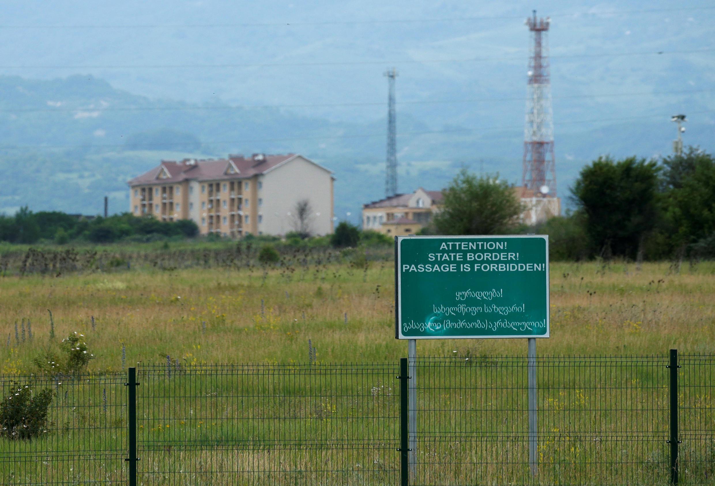 Российская военная база на территории Южной Осетии. Грузия. 4 июня 2018 г.