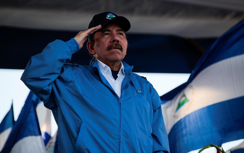Daneil Ortega en Managua,  5 septiembre 2018.