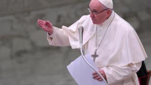 O papa Francisco no Vaticano, em 21 de dezembro de 2018.