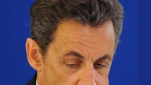 O presidente francês Nicolas Sarkozy.