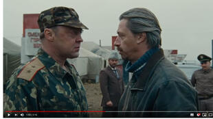 Capture d'écran de la bande d'annonce du film «Fraternité» de Pavel Lounguine.