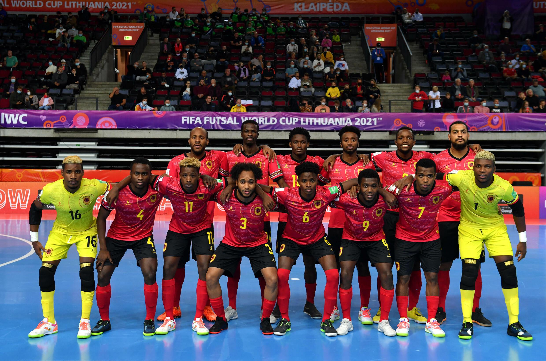 Angola - Selecção Angolana - Futsal - Desporto - Palancas Negras - Mundial - Klaipeda