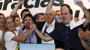 La MUD, qui a remporté les élections législatives vénézuéliennes, le 6 décembre 2015, est une coalition héréroclite, qui va de la gauche à la droite dure.