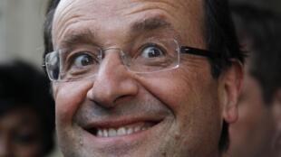 El nuevo presidente francés François Hollande, este 7 de mayo de 2012.