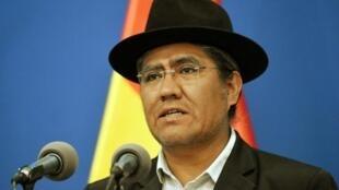 'Hasta la fecha no se ha presentado ninguna prueba' del fraude, nos dijo el ministro de Relaciones Exteriores de Bolivia, Diego Pary.