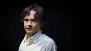 Le dessinateur et patron de «Charlie Hebdo» Laurent Sourisseau, surnommé Riss, le 30 juin 2015 à Paris.