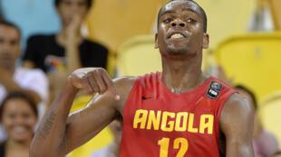 Yanick Moreira, internacional angolano.