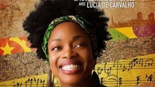 A artista luso - angolana Lúcia de Carvalho