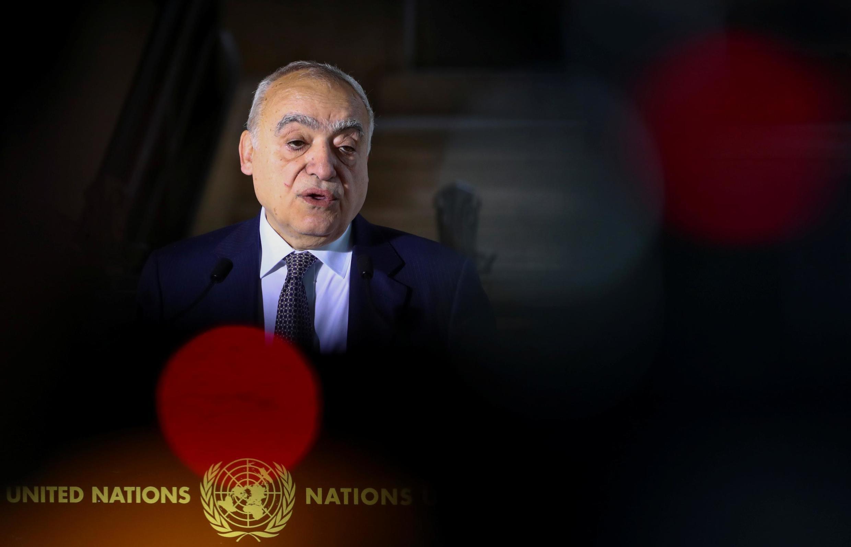غسان سلامه، فرستادۀ سازمان ملل به لیبی