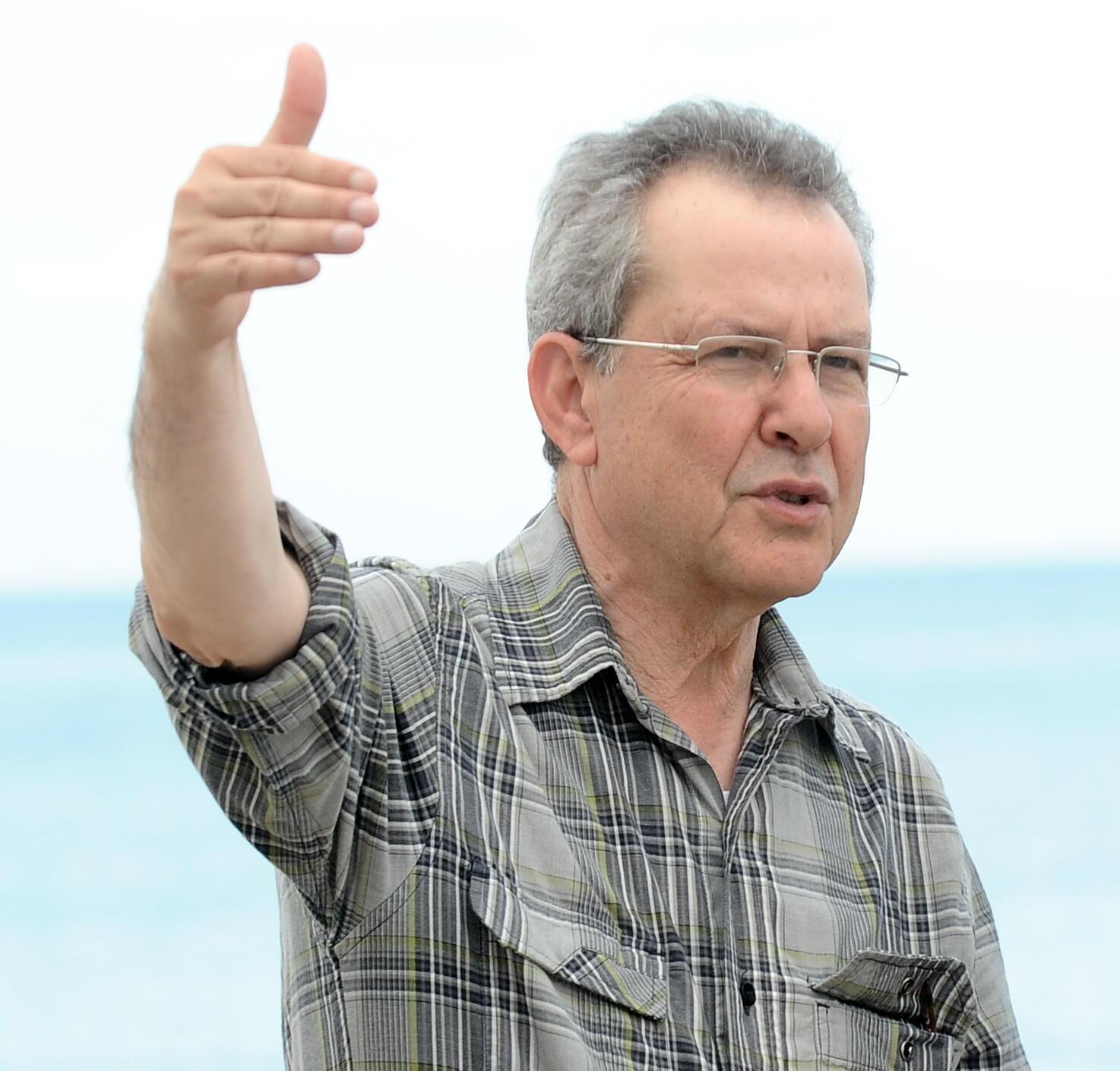 """Merzak Allouache, réalisateur de """"El taaib"""" (Le Repenti)."""