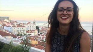 Flávia Motta, a blogueira que apoia o governo de esquerda