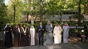 رئیس جمهوری آمریکا، باراک اوباما، و مقامات شش کشور عضو شورای همکاری خلیج فارس / ١۵ ماه می ٢٠١۵