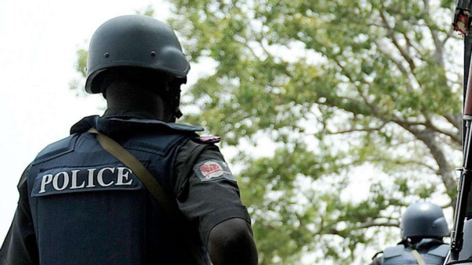 Nigerian Police Officer.