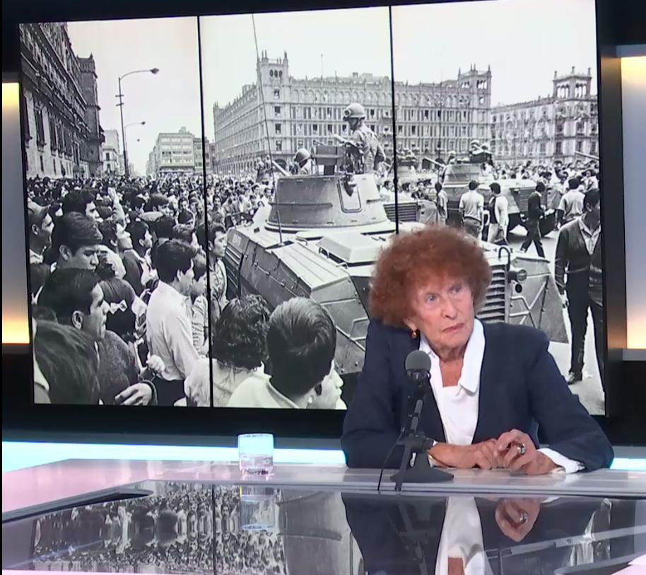 Claude Kiejman, corresponsal en México, en 1968, del periódico francés Le Monde, en entrevista para Escala en París, 4  de octubre 2018