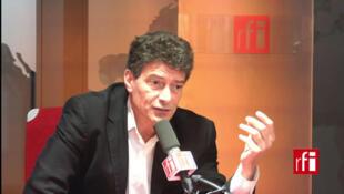 Pascal Durand, tête de liste EELV aux élections européennes sur l'Ile de France et les français de l'étranger.