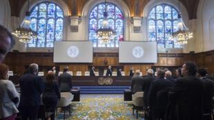 La Cour internationale de Justice à La Haye au Pays-Bas (image d'illustration).