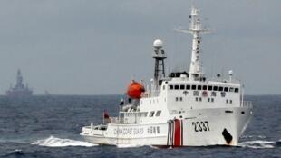 爭議海域中國海警船隻資料圖片