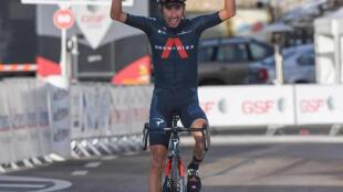 Iván Sosa se apoderá del maillot de líder del Tour de La Provence al ganar la etapa reina, con llegada al mítico mont Ventoux.