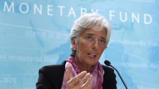 Christine Lagarde, directora-gerente do Fundo Monetário Internacional.