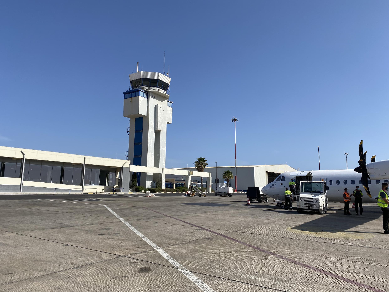 Aeroporto Internacional da Praia.