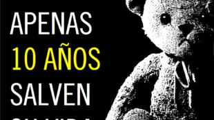 Imagen ilustrativa de la campaña de Amnistía Internacional sobre el caso del embarazo de una niña violada.