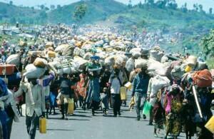 Burundi-Dandazon ayarin yan gudun hijirar Burundi dake tsrewa kisan kiyashin kasar zuwa Kongo [nid:500476298]