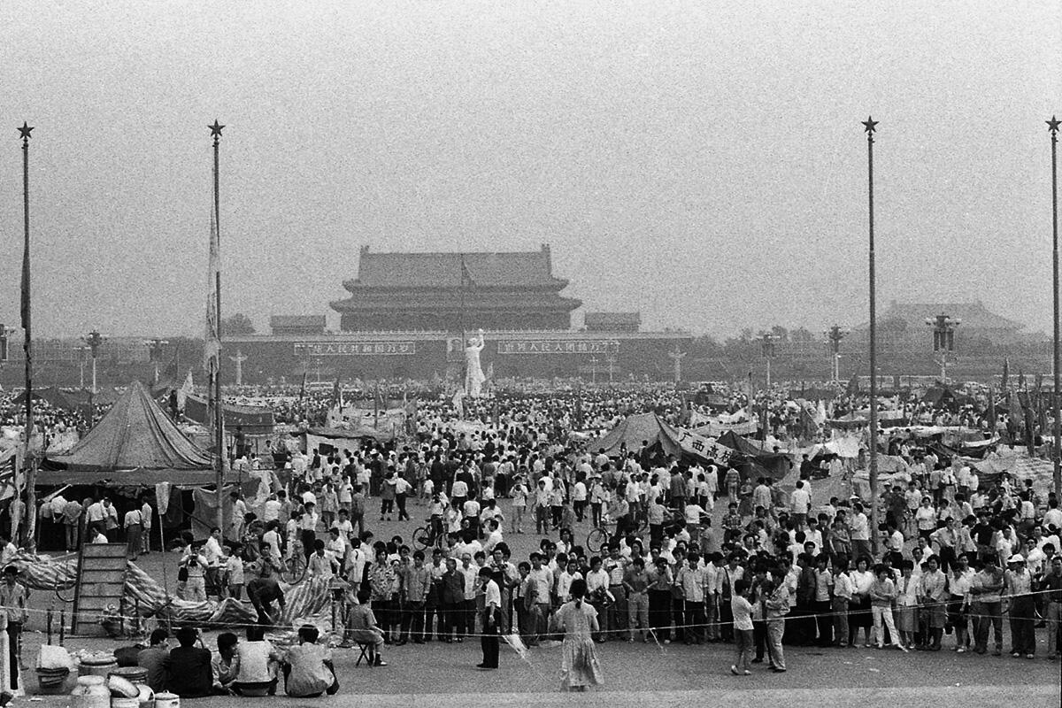 Vea nuestro diaporama sobre las protestas de Tiananmen: