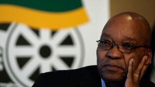 Jacob Zuma, chef de l'Etat Sud-africain.
