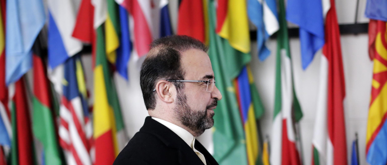 Đại sứ Iran tại Cơ quan Năng lượng Nguyên tử Quốc tế (IAEA), ông Reza Najafi, Vienna, 11/12/2013