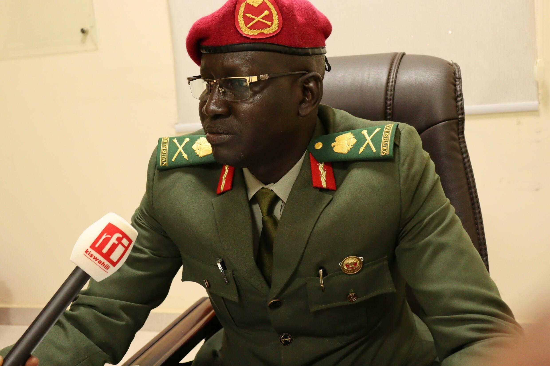 Mej.Gen Lul Ruai Koang SSPDF Spokesman South Sudan