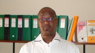 Cheikh Oumar Ba, dirigeant de l'Initiative prospective agricole et rurale.