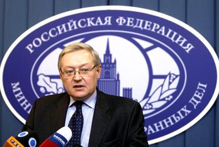 O vice-ministro das Relações Exteriores, Serguei Riabkov, declarou que a Rússia vai enviar mísseis S300 para a Síria.