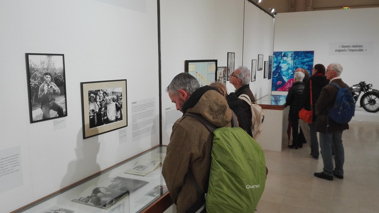Exposición sobre Che Guevara en París.