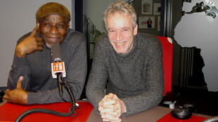 A USAGE EXCLUSIF - EPOPEE DES MUSIQUES NOIRES - Musique - Epopée1 - Ray Lema et Laurent de Wilde en studio à RFI - Christian Rose