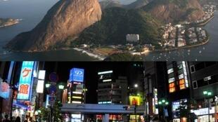 As cidades do Rio de Janeiro e Tóquio são consideradas como as cidades mais caras do mundo para expatriados.