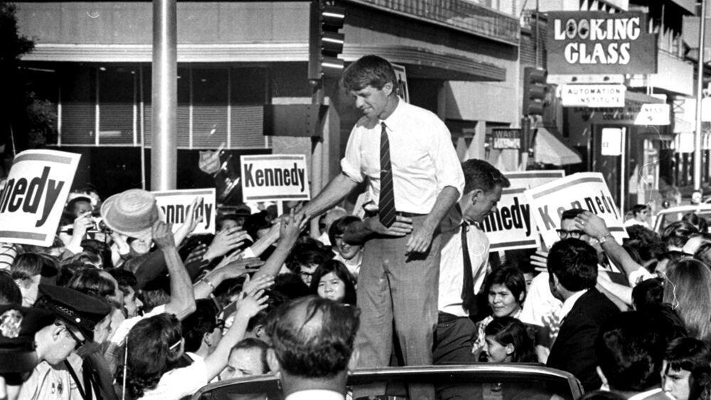 رابرت کندی در ۵ ژوئن ١٩۶٨ ترور شد