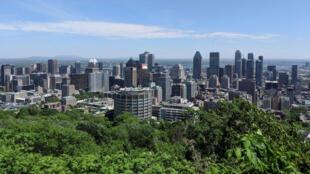 Os moradores de Montreal, no Québec, viveram dias de forte calor no início de julho