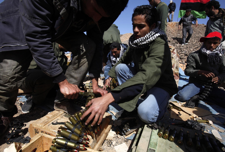 Garin Ras Lanouf na kasar Libya