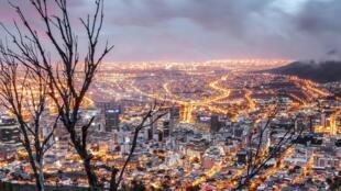 La ville du Cap, en Afrique du Sud.