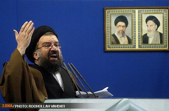 احمد خاتمی، خطیب نماز جمعه این هفته تهران