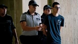 Mourad Hamyd arrives in court in Sofia on 10 August