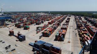 Hàng hóa đến cảng South Carolina, Hoa Kỳ ngày 10/05/2018.