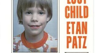 Anuncio de la desaparición de Etan Patz.
