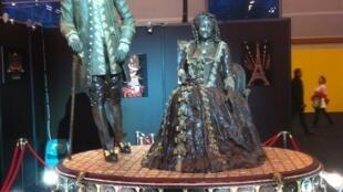 Sébastien de Vauban y Madame de Montespan, personajes en chocolate, Leonidas.