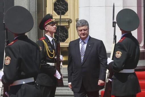 Инаугурация пятого президента Украины Петра Порошенко