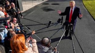 Le président Trump, le 6 janvier 2019 à Washington.