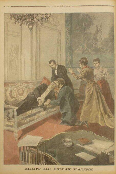 Felix Faure - a victim of Cupid in the Elysée Palace