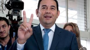 Dan takarar shugabancin kasar Guatemala Jimmy Morales