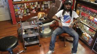 Turkish tattooist Danny Garcia